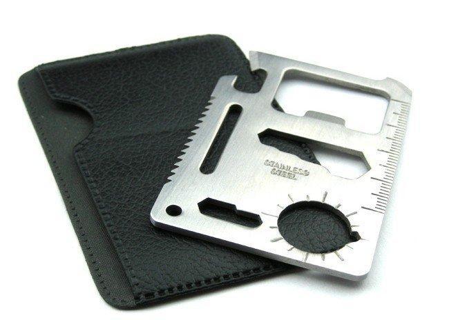 11 in 1 pocket emergency survival tool