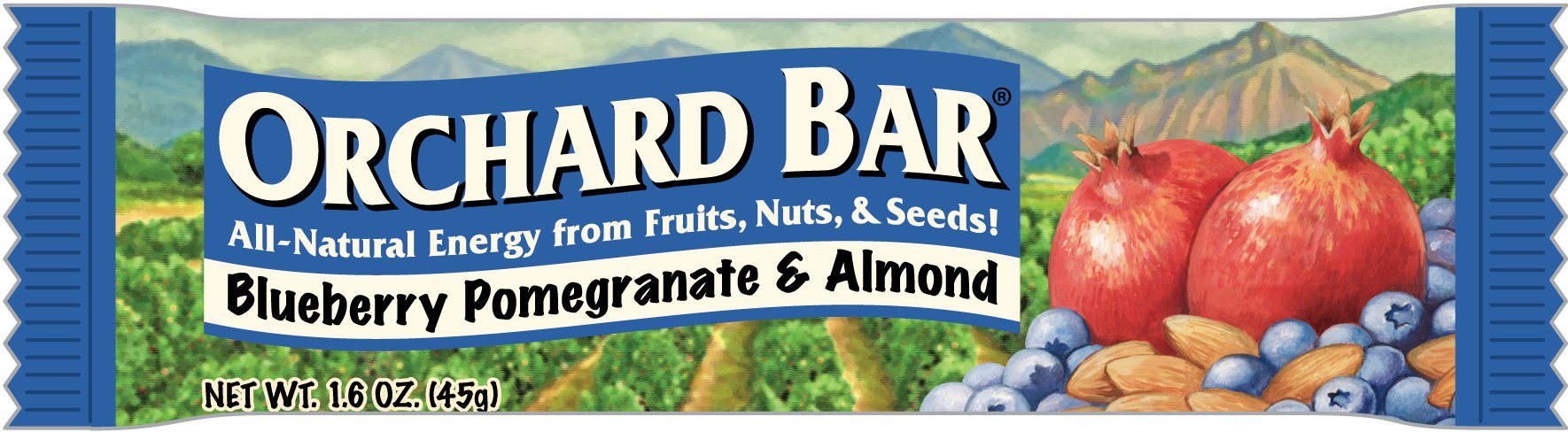Orchard Bar from Liberty Orchards | Texas Kitchen and Garden and More