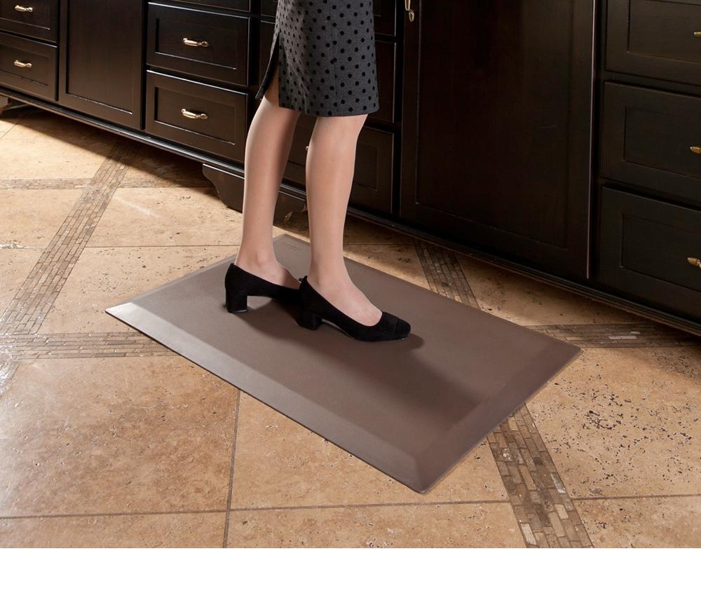 Commercial Kitchen Floor Mats Imprintar Comfort Mats Cumuluspro Anti Fatigue Mats With
