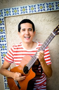 Andres Salguero_guitar laugh_photo credit Jonathan Edelman_72 dpi
