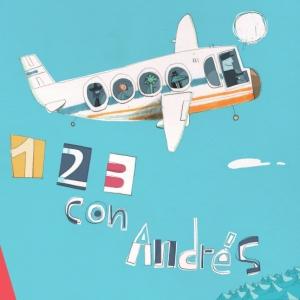 Uno, Dos, Tres con Andres - CD cover art - small